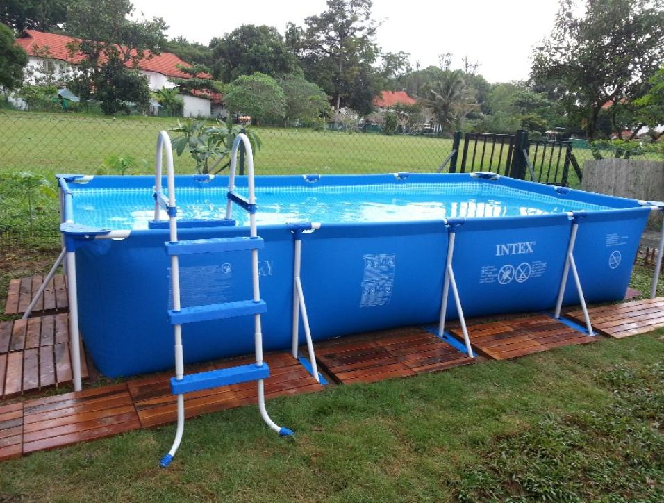 Prism Rectangular Pool And Small Rectangular Pool