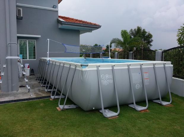 Malaysia Above Ground Rectangular Swim Pool